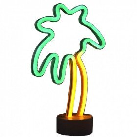 LED Tabletop Neon Palm