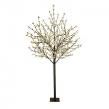 8 ft flower led lighted tree