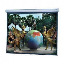 pull down projector screen - Da-lite - 80""