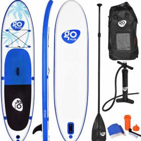 Goplus 11' Cruiser SUP Standup Paddle Boards - With Paddle, backpack and pump included
