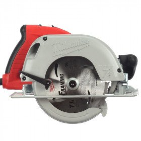"7.25"" Circular Saw - Red - Carrying Case"
