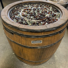 Sunbeam Firepit Barrel - Propane