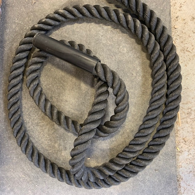 Black Battle Rope - 30' x 1.5""