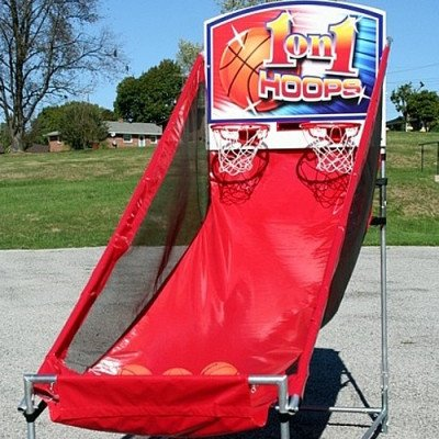 """Basketball - Dual Hoop """"1 on 1"""" Game picture 1"""