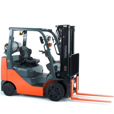 Warehouse Forklift, 6000 lbs., Diesel picture 1