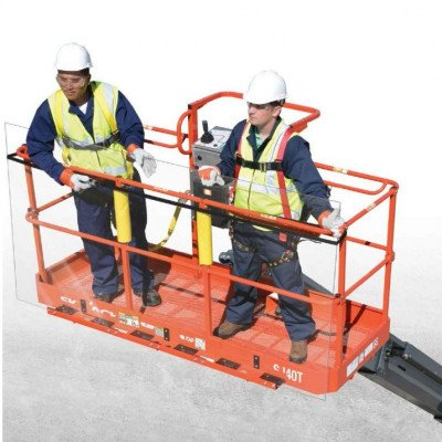 Glass and Panel Tray Accessory for Boom Lift picture 1