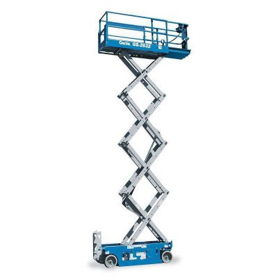 Scissor Lift, 24 ft.-26 ft., Electric Powered, Wide picture 1
