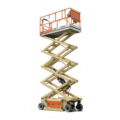 Scissor Lift, 24 ft.-26 ft., Electric Powered, Wide picture 2