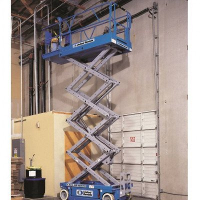 Scissor Lift, 39 ft.-40 ft., Electric Powered, Wide picture 1