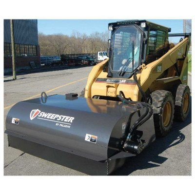 Broom with Bucket Attachment for Skidsteer picture 2