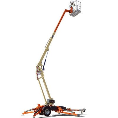 Towable Boom Lift, 30 ft.-36 ft., Electric or Gas Powered Available picture 2