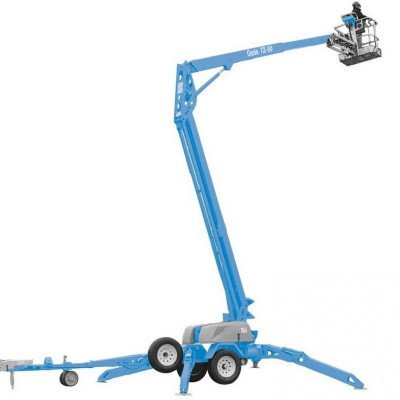 Towable Boom Lift, 30 ft.-36 ft., Electric or Gas Powered Available picture 1