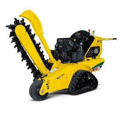 Walk-Behind Trencher, 18-27 hp, Track picture 1