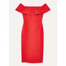 Aritzia ruslan dress in scarlet