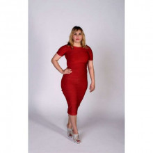 Sivalia candy apple bandage dress