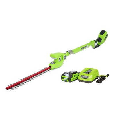 cordless pole hedge trimmer picture 1