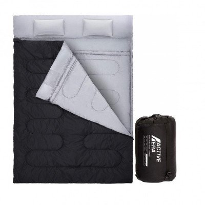 double sleeping bag picture 1