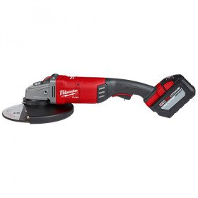 Milwaukee220V 9 In Large Angle Grinder W-Non Lock-On Switch