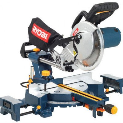 ryobi - compound sliding mitre saw-1