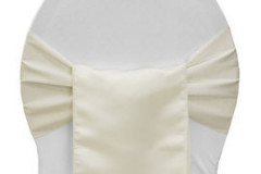 Ivory – Chair Sash - Lamour