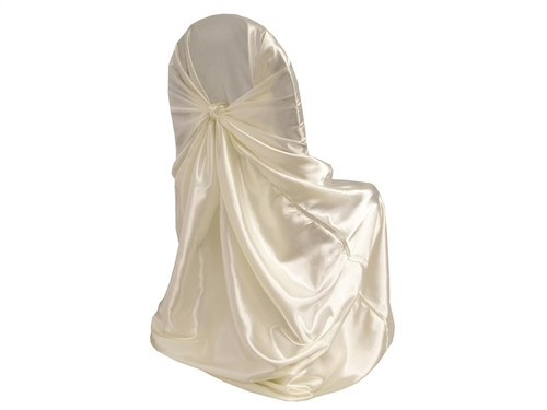 Ivory - Chair Cover Universal - Satin