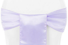 Lavender – Chair Sash - Satin