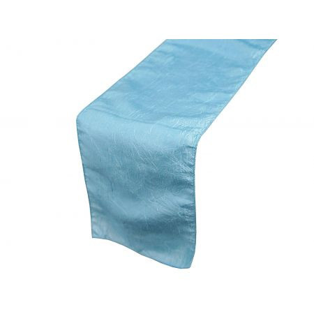 Light Blue – Table Runner - Taffeta Crinkle