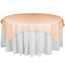 "Orange – Overlay – Organza – 72""x72"""