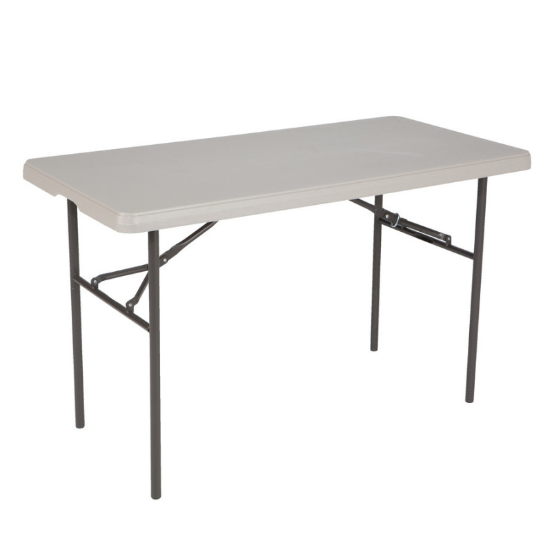 "Table Rectangular - 4' Long x 24"" Wide x 30"" Height"
