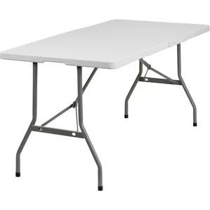 "table rectangular - children's 6' long x 30"" wide x 20"" high"