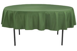 Willow Green - Round Tablecloth – Poly – 90""