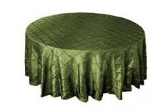 Willow Green - Round - Tablecloth – Pintuck - 120""