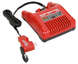 Milwaukee - M18 Lithium-Ion AC/DC Wall & Vehicle Charger