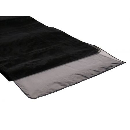 Black – Table Runner - Organza