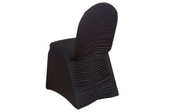 Black - Chair Cover – Milan Banquet – Spandex