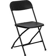 Chair - Plastic Folding – Black