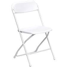 Chair – Plastic Folding - White