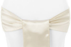 Champagne – Chair Sash - Satin