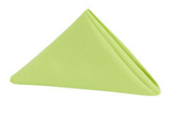 "Apple Green – Napkin – Poly – 20""x20"""