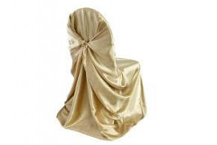 Champagne – Chair Cover Universal - Satin