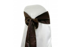 Chocolate – Chair Sash – Lamour