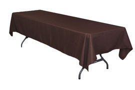 "Chocolate – Rectangle Tablecloth – Poly - 50""x120"""
