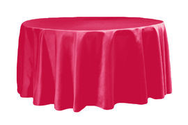 Fuchsia – Round - Tablecloth - Lamour – 120""
