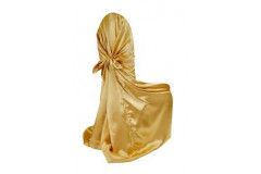 Gold – Chair Cover Universal - Satin
