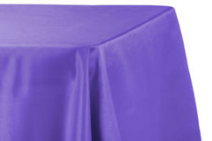 "Purple – Rectangle - Tablecloth – Satin – 90""x156"""