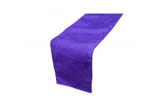 Purple – Table Runner - Taffeta Crinkle