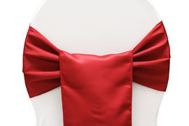 Red – Chair Sash - Lamour