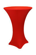 Red – Cocktail Table Cover - Spandex