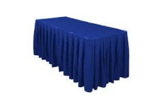 Royal Blue - Table Skirt – Poly – 17'