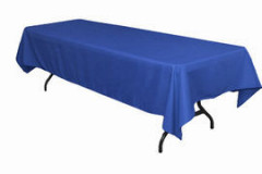 "Royal Blue – Rectangle Tablecloth – Poly - 50""x120"""